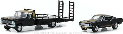 Greenlight 1968 Ford F-350 Ramp Truck with 1966 Shelby Mustang GT350H