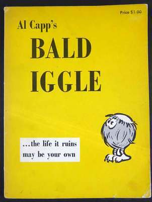 Al Capp's Bald Iggle 1956, Large Soft Cover Comic Strip Collection