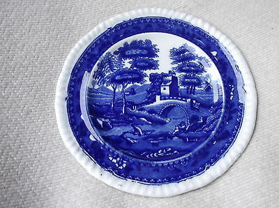 """Old Mark Small Size Side Plate Deep Flow Blue White Copeland Spodes Tower 5.5"""""""
