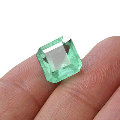4.75CT 100% Natural Attractive Emerald From Colombia Muzo Collection MQMD15