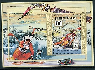 Guinea MiNr. Block 466 postfrisch/ MNH Olympia (Oly1223