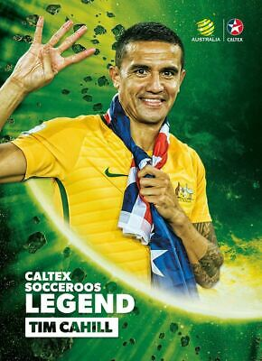 Tim Cahill, Caltex Socceroos Legend card, 2018 Tap'n'play Soccer Trading Cards