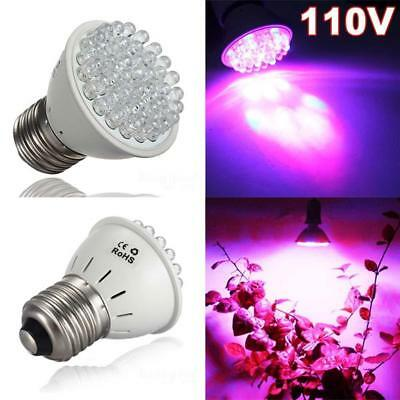 E27 Full Spectrum 110/220V LED Grow Light Hydroponic Veg Plant Growing Lamp Bulb