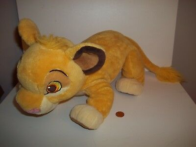 Large Simba Lion King Disney Store Soft Plush Toy doll,22 inches, See Others
