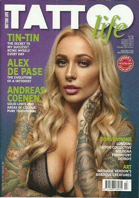 TATTOO LIFE Magazine No.113 (NEW) *Post included to UK/Europe/USA/Canada