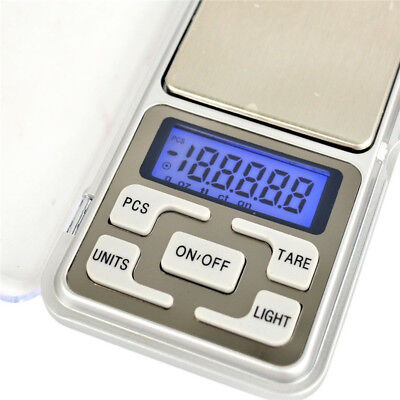 Portable Pocket Digital Jewelry Scale Weight 200g/0.01 Electronic Gram