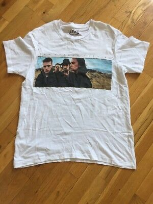 U2 The Joshua Tree 2017 Tour Official Shirt North America Tour Dates Large NEW