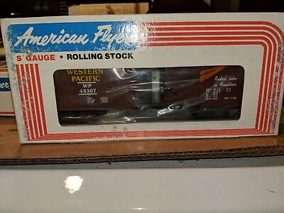 American Flyer S Gauge 6-48307 Western Pacific Box Car C-9 OB