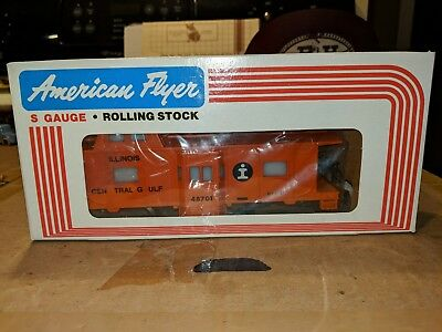 American Flyer S Gauge 6-48701 Illinois Central Caboose C-9 OB