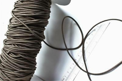 brown TAUPE BUNGEE 3mm CORD Milliners ELASTIC edging stretch cord sewing threadi