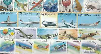 Motives 150 different Aviation stamps