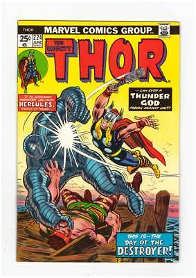 Thor # 224  Day of the Destroyer ! grade 8.0 scarce book !!