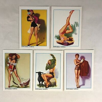 """HOLLYWOOD PINUPS (21st C.) Complete """"MARILYN MONROE NORMA JEAN"""" Chase Card Set"""