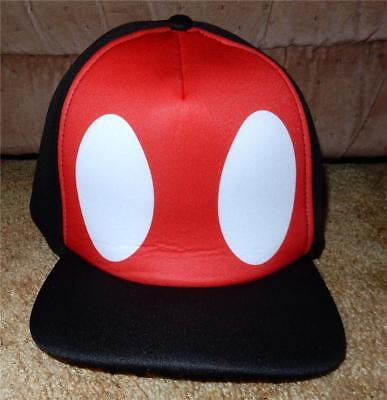 Disney  Mickey Mouse Foam Base Ball  Cap For Adults New With Tags