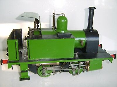 Large Gauge Fine Quality Live Steam Engine  Train Very Good Engineered & Finish
