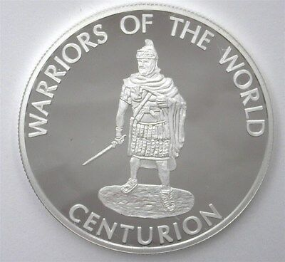 Warriors Of The World 2010 10 Francs - Centurion - Perfect Proof Dcam