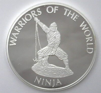 Warriors Of The World 2010 10 Francs - Ninja - Perfect Proof Dcam