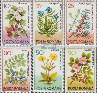 Romania 4866-4871 (complete.issue.) unmounted mint / never hinged 1993 Medicinal