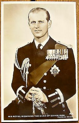 AK Prinz Philip THE DUKE OF EDINBURGH Foto Landsdowne Production London 1955