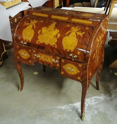 Gorgeous Charle X style Roll top desk secretaire
