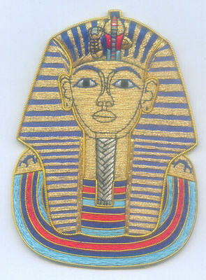 Ancient Egypt Egyptian Royal King Tut Pharaoh Dynasty RA Symbol Kingdom Patch 33