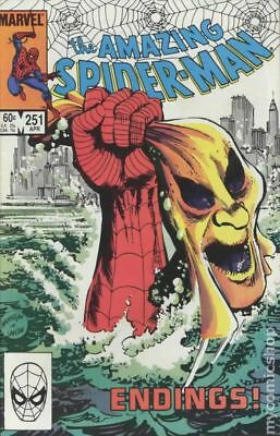 Amazing Spider-Man (1st Series) #251 1984 FN- 5.5 Stock Image Low Grade