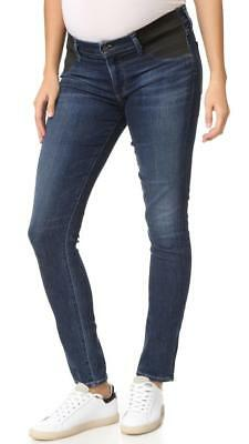 CITIZENS OF HUMANITY $178 Avedon Skinny Maternity Jeans in Cruz Wash sz.25