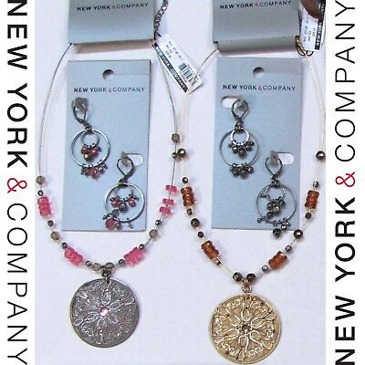 NWT $88 Wholesale Lots NEW YORK & COMPANY Fashion Jewelry Necklaces Earrings NEW