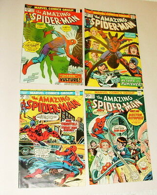 %  1970's Thae Amazing Spider-Man  Comic Book Collection  Lot S-10
