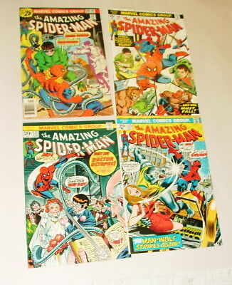 % 1970's The Amazing Spider-Man  Comic Book Collection  Lot S-48