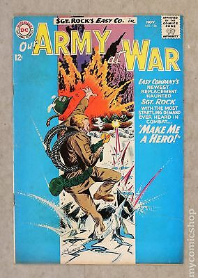 Our Army at War #136 1963 VG 4.0