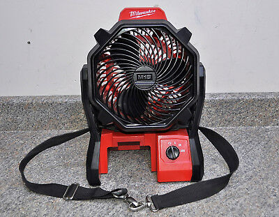 MILWAUKEE Jobsite Fan 0886-20. Mint Condition! Fast Shipping! Fully Tested