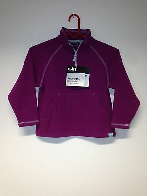 Gill Junior Grid Mikrofleece Zip Neck Gr. JXS  Orchid - Restposten