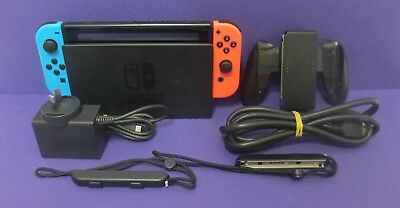Nintendo Switch Console - Neon Red & Blue Joy-Cons (HAC001)
