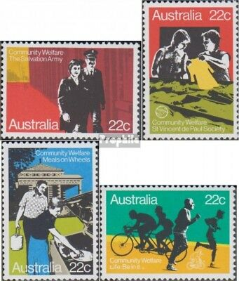 Australia 720-723 (complete.issue.) unmounted mint / never hinged 1980 Welfare