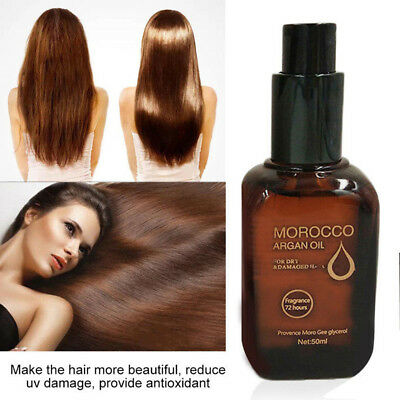 Hair Moisturizing Moroccan Argan Oil Pure Macadamia Nut Hair Care Oil 50ml NH5F