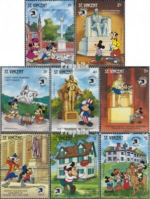 St. Vincent 1358-1365 (complete.issue.) unmounted mint / never hinged 1989 Walt-