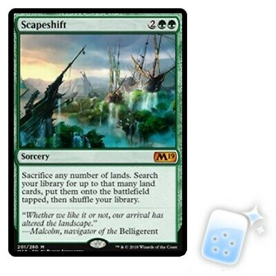 SCAPESHIFT Core Set 2019 M19 Magic MTG MINT CARD