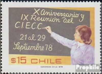 Chile 894 (complete.issue.) unmounted mint / never hinged 1978 CIECC