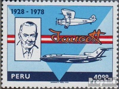 Peru 1105 (complete.issue.) unmounted mint / never hinged 1978 Aviation