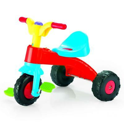 Dolu Toddler Kids Childrens My First Pedal Trike Three Wheel Ride On Multicolour