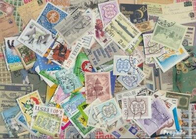 Estonia ab 1991 Stamps-100 different stamps