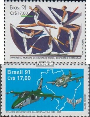 Brazil 2395,2398 (complete.issue.) unmounted mint / never hinged 1991 Sportausbi