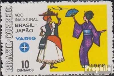 Brazil 1174 (complete.issue.) unused 1968 Opening the flight connection