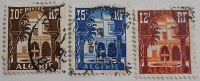 Algeria  Used Church Stamps....worldwide Stamps