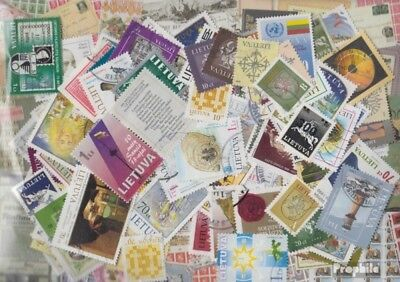 Lithuania ab 1990 Stamps-100 different stamps