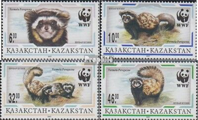 kazakhstan 154-157 (complete.issue.) unmounted mint / never hinged 1997 Tigerilt