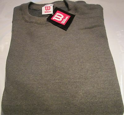 Wilson Sweatshirt 2XL Heavy weight 3 Pc 2 Color 50/50 Cotton/Polyester