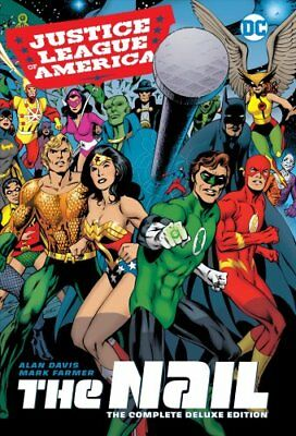 JLA The Nail Another Nail Deluxe Edition HC by Alan Davis (Hardback, 2017)