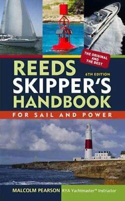 Reeds Skipper's Handbook by Malcolm Pearson 9781408124772 (Paperback, 2010)